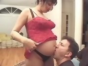 Indian preggy girl spoils horny men